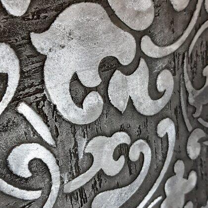 Dekoratvni stěrka efekt stencil