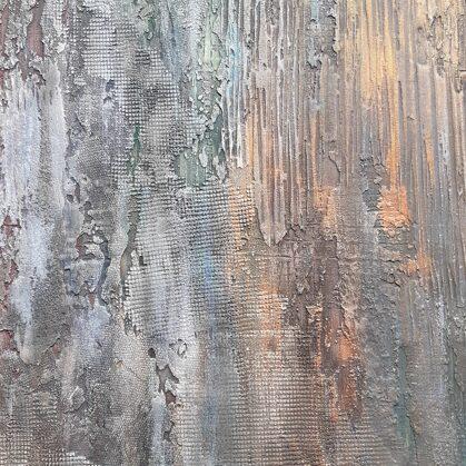 Dekorativní stěrka abstrakce