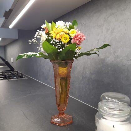 Dekorativní stěrka kuchyň, krb