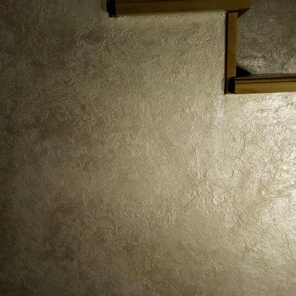 Dekorativní stěrka schodiště