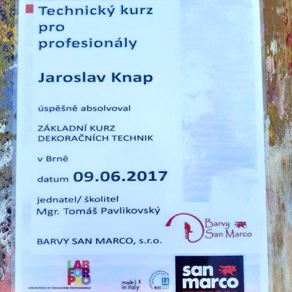 Certifikát San Marco, Technický kurz pro profesionály