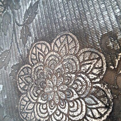 Metalická stěrka - tekutý kov -měď, hliník